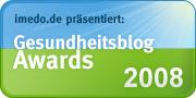 Imedo Gesundheitsblog Awards 2008